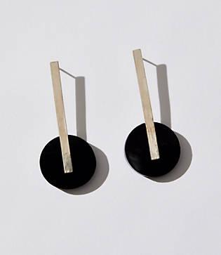 Lou & Grey Swim To The Moon Axis Earrings