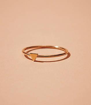 Lou & Grey Baleen Triangle Ring