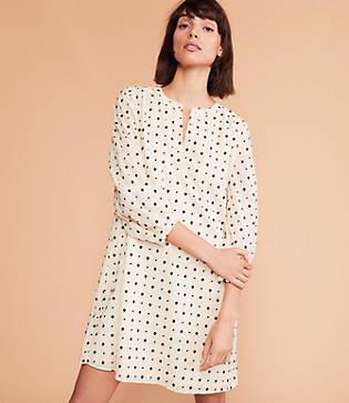 Lou & Grey Diamond Dot Dress