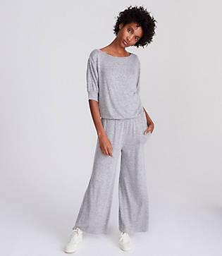 Lou & Grey Tucked Jumpsuit