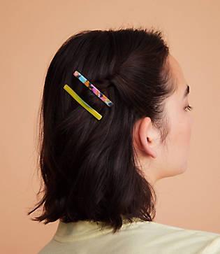 Lou & Grey Casa Clara Slim Hair Clip Set