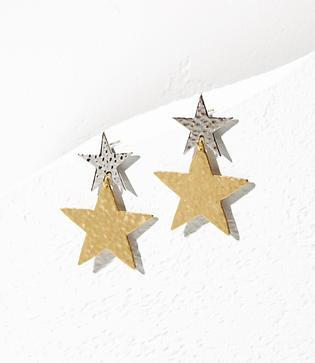 Lou & Grey We Dream In Colour Shooting Star Earrings