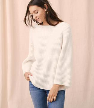 Lou & Grey Soft Ribbed Dolman Sweater