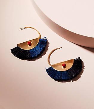 Lou & Grey Nectar Nectar Fringe Earrings