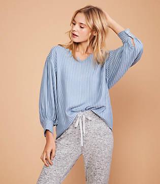 Lou & Grey Dashstripe Shirt