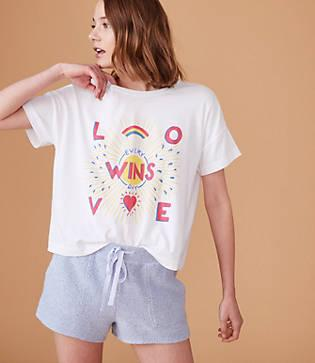 Lou & Grey Calhoun & Co. Love Wins Tee