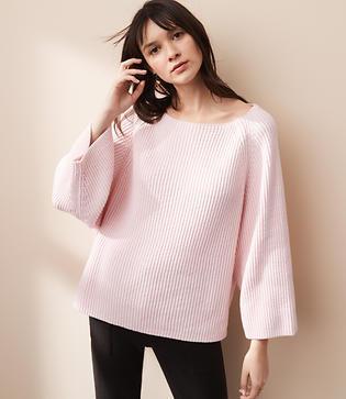 Lou & Grey Ribbed Dolman Sweater