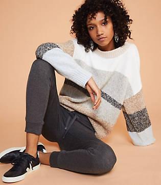 Lou & Grey Stripemarl Sweater