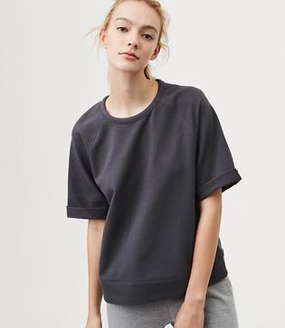 Lou & Grey Form Sweatshirt Tee - Anytime