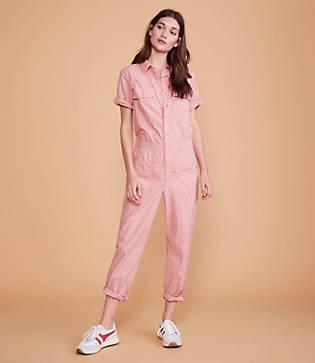Lou & Grey Summer Poplin Jumpsuit