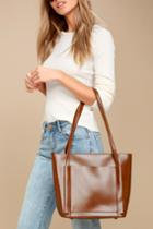Business Idea Brown Tote | Lulus