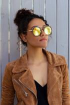 Blanche Tortoise And Gold Sunglasses | Lulus