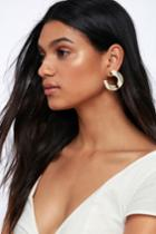 Your Story Beige Acrylic Earrings | Lulus
