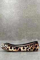 Lfl Tinker Leopard Velvet Ballet Flats