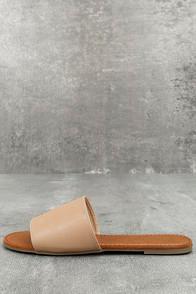 Bonnibel Addison Natural Slide Sandals