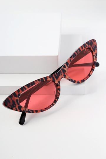 Crap Eyewear The Ultra Jungle Leopard Cat-eye Sunglasses | Lulus