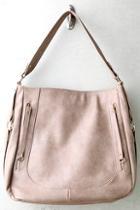 Lulus How Far I'll Go Taupe Handbag