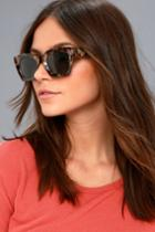 Potent Grey And Tortoise Sunglasses | Lulus