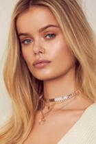 Child Of The Wild Rose Gold Choker Necklace Set | Lulus