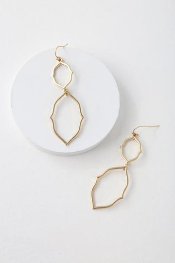 Connolly Gold Earrings | Lulus