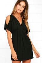 Lush Game Changer Black Dress