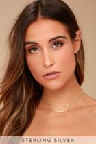 Lulus | My Wish Gold Layered Choker Necklace
