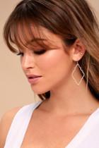 Reagan Rose Gold Earrings | Lulus