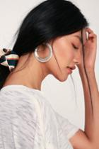 Meant For Me Silver And White Pearl Earrings | Lulus