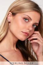 Louie Gold Rhinestone Earrings   Lulus