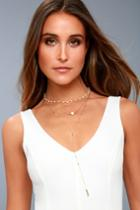 Effortlessly Elegant Gold And Pearl Layered Necklace | Lulus