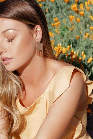 Find Your Bliss Gold Earrings | Lulus