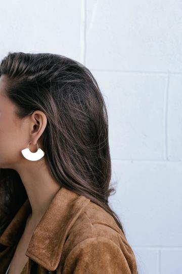 Mireya Gold Earrings | Lulus