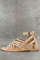 Rebels Rebels Trinity Natural Leather Gladiator Sandals