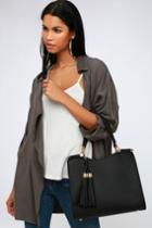 Calbira Black Handbag | Lulus