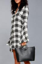Lulus | Gimme A Ring Black Ring Handle Tote | Vegan Friendly