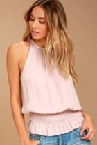 Cherished Memories Blush Pink Sleeveless Top | Lulus