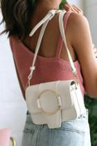 Constanso Ivory Purse | Lulus
