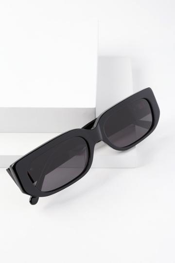 Crap Eyewear The Paradise Machine Black Sunglasses | Lulus