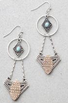 Lulus Mendocino Silver Earrings