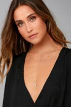 Lulus Avani Gold Layered Necklace
