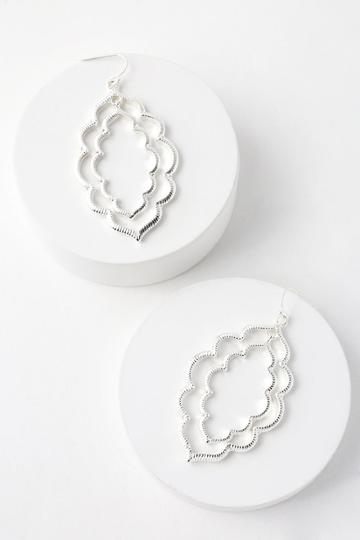 Cantoria Silver Earrings | Lulus