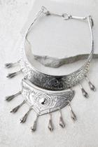 Natalie B Jewelry Natalie B Protector Silver Statement Necklace