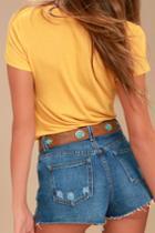 Lulus | Sundance Chick Brown Belt