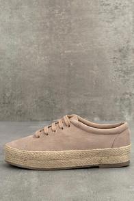 Bonnibel Pippa Natural Suede Espadrille Sneakers