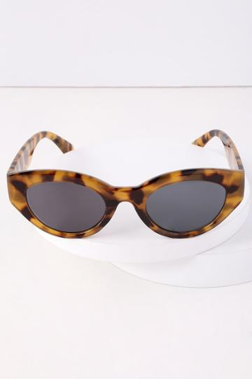 Damn Gina Tortoise Cat-eye Sunglasses | Lulus