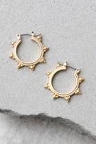 Lulus Sundrop Gold Earrings