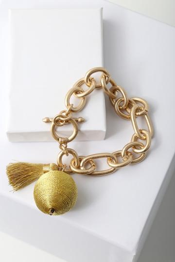 Carressa Gold Chain Bracelet | Lulus