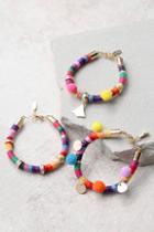 Ettika Festival Madness Rainbow Bracelet Set