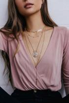 Valletta Gold Layered Necklace   Lulus