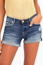Blank Nyc Fulton Medium Wash Distressed Denim Shorts | Lulus